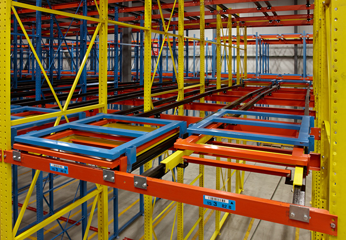 Minnesota Push Back Pallet Rack