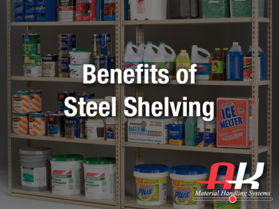 Benefits of Steel Shelving