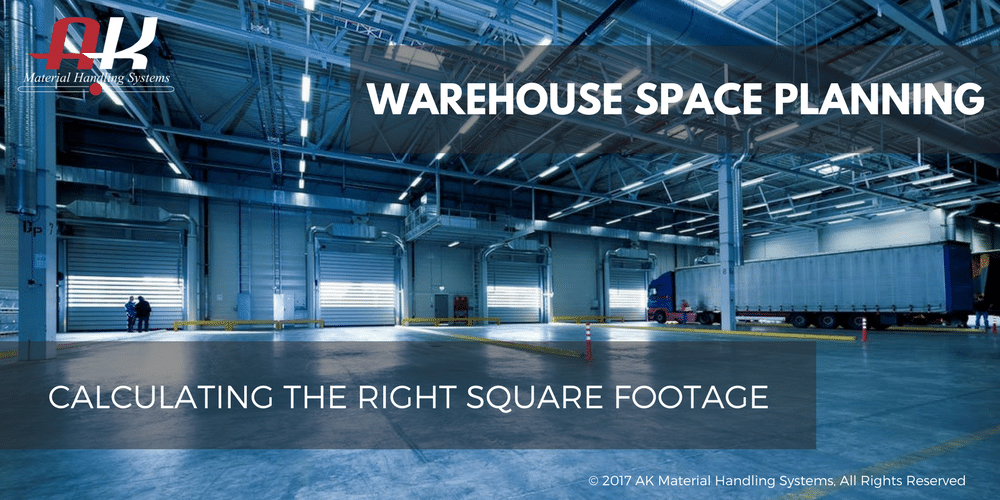 warehouse space planning calculating the right square footage