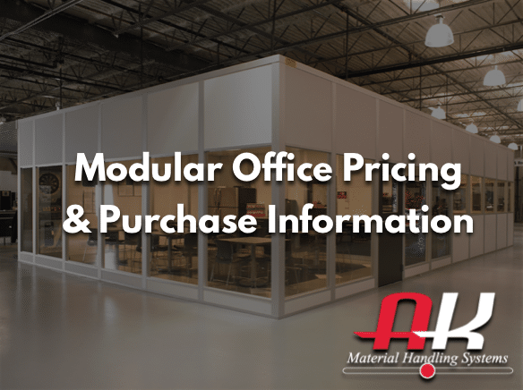 Modular Office Building Pricing and Purchase Information