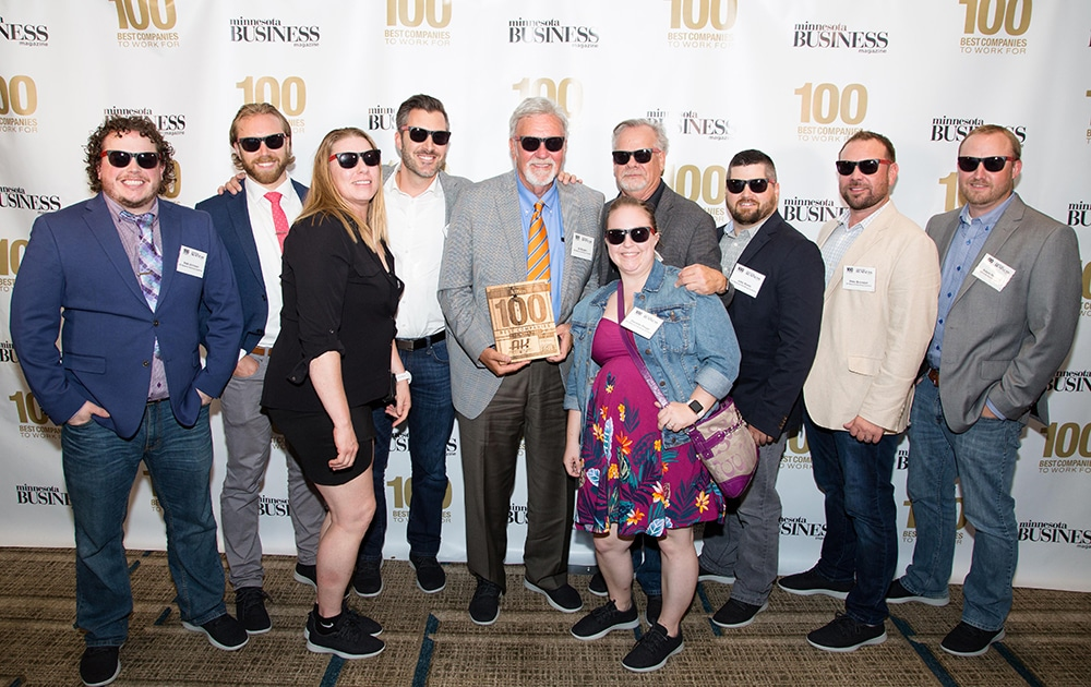 AK Material Handling Systems Minnesota 100 Best Places to Work