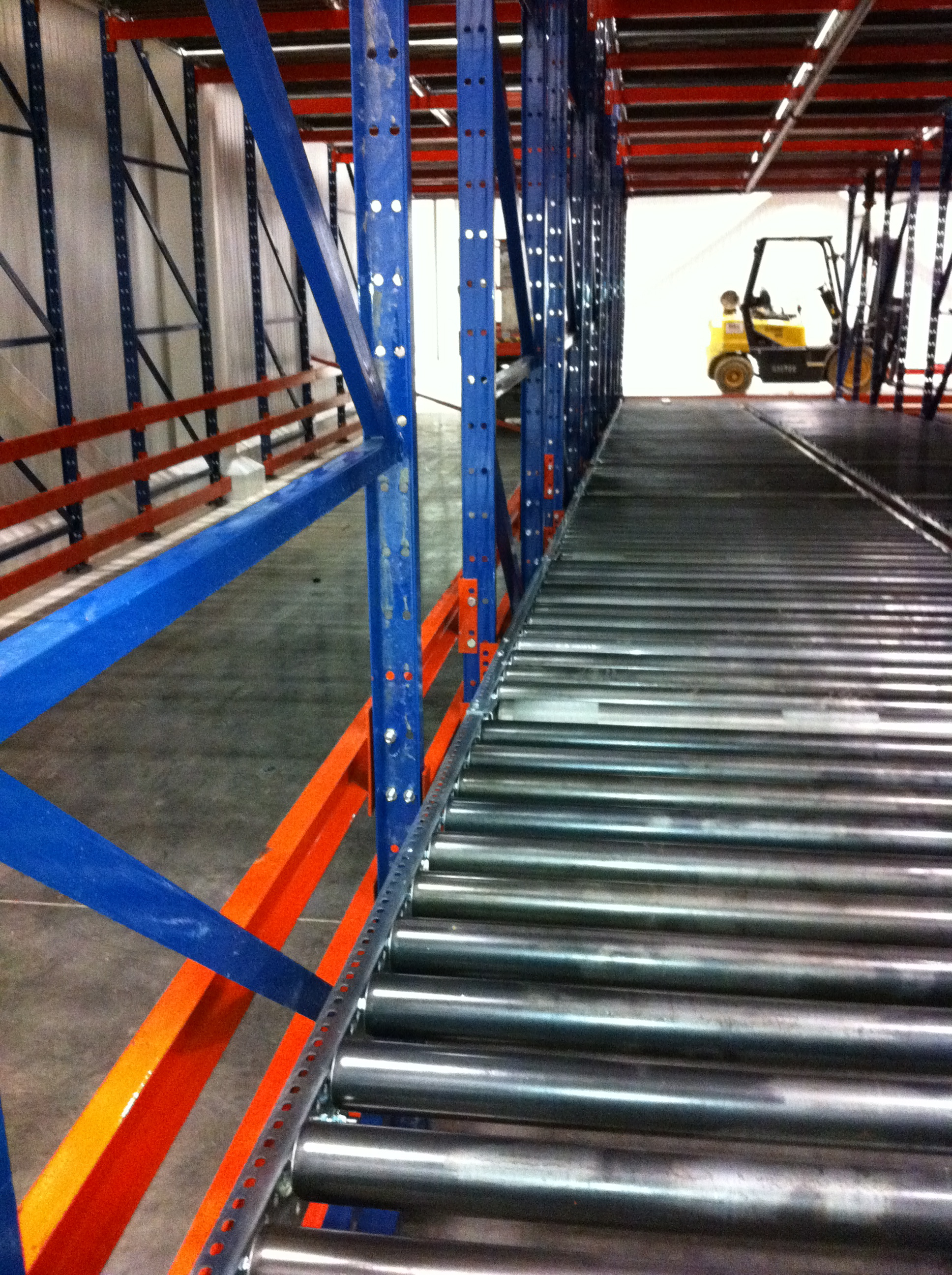Most Reliable Refrigerator >> Pallet Flow Rack - Gravity Flow Racking | AK Material ...
