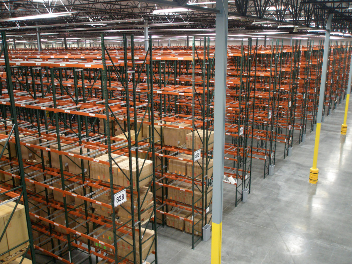 Pallet RacksPallet Racking in a Warehouse