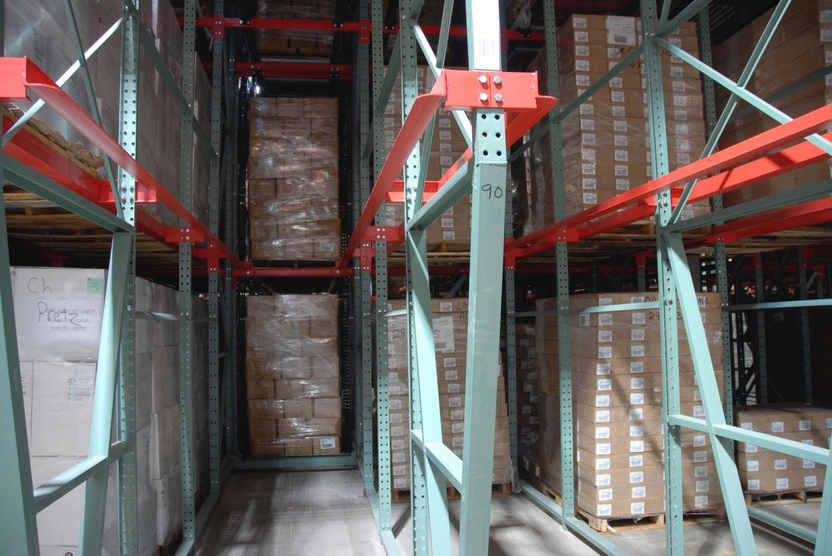 drive in pallet rack systems