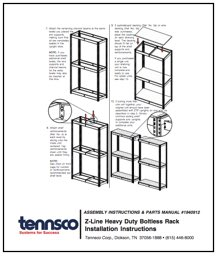 Tenneco Heavy Duty Shelving Instructions