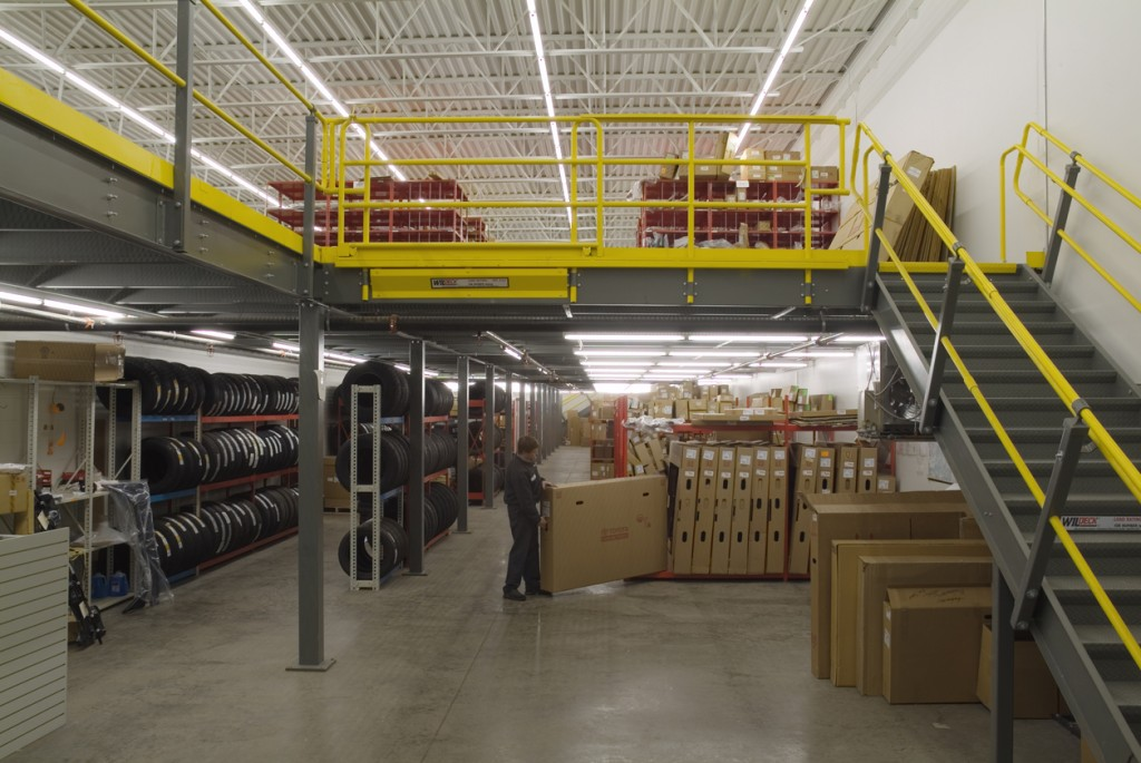 Mezzanines Amp Work Platforms Ak Material Handling Systems