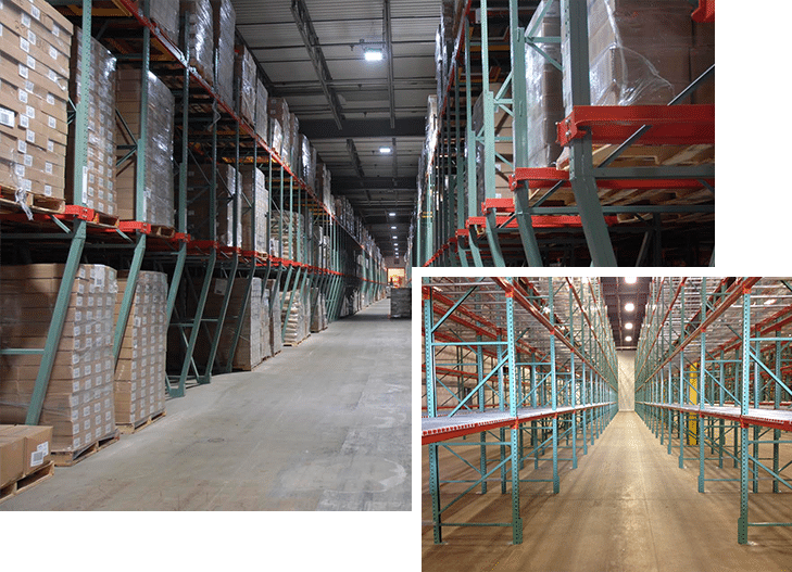 Ak material handling systems minnesota pallet racking Warehouse racking layout software free
