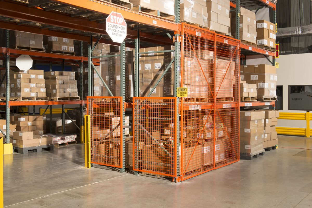 BeastWire RackSafety Door with End Panels