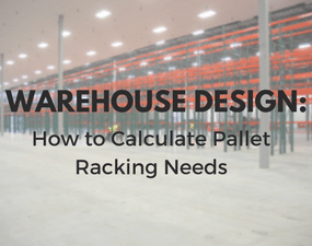 how to calculate pallet racking neds