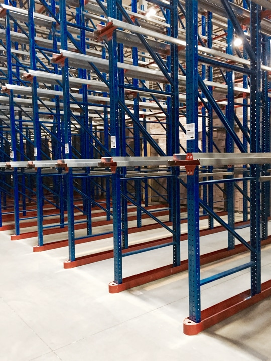 Maple Grove Mn Zip Code >> Improve Warehouse Space Utilization with Drive In Rack | AK Material Handling Systems