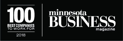 Minnesota Business Magazine, 100 best companies to work for 2018